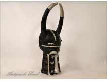 Ethnic Tribal African Mask Primitive 20th