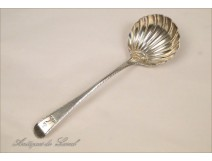 Cream spoon sterling silver Irish 18th