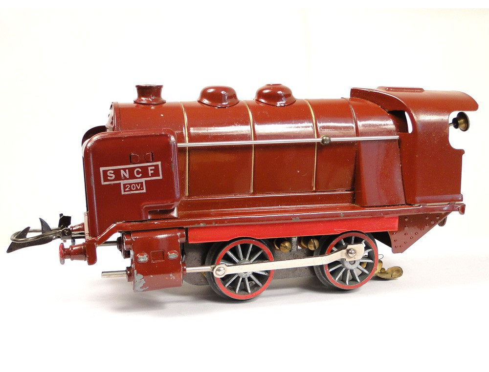 Electric Train Model Hornby Meccano Paris 0 4e Wagon Rails