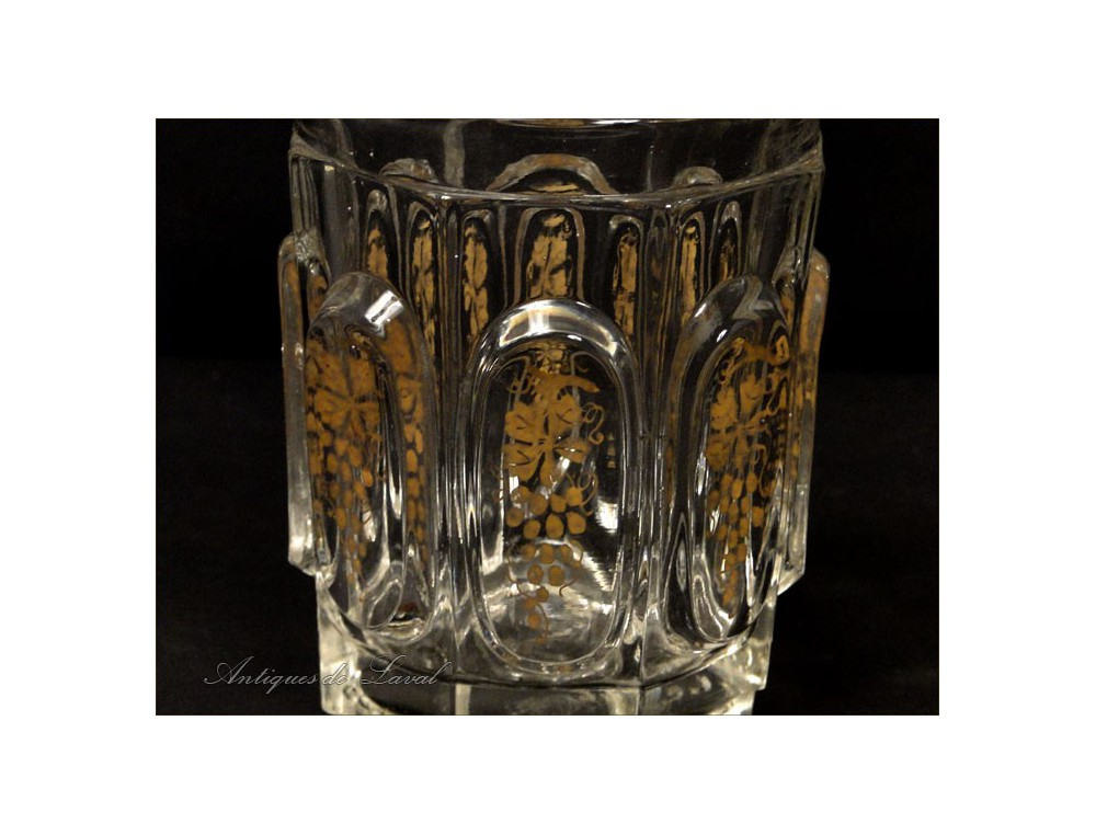 verre cristal charles x