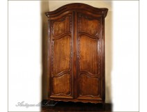 Port Nantaise cabinet solid mahogany from Cuba, eighteenth
