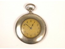 Sterling Silver Watch Fob Simonet Paris 19th Crowned