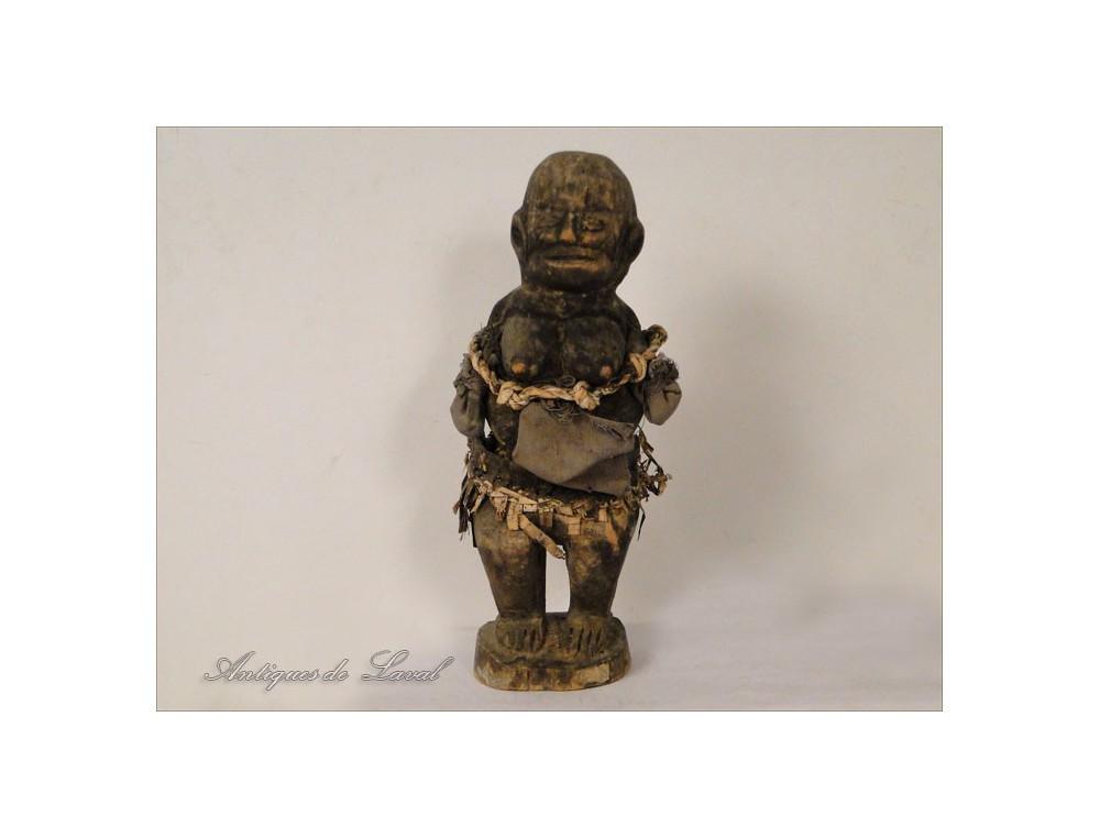 Statuette Tribal African Primitive Ethnic Fetish 20th