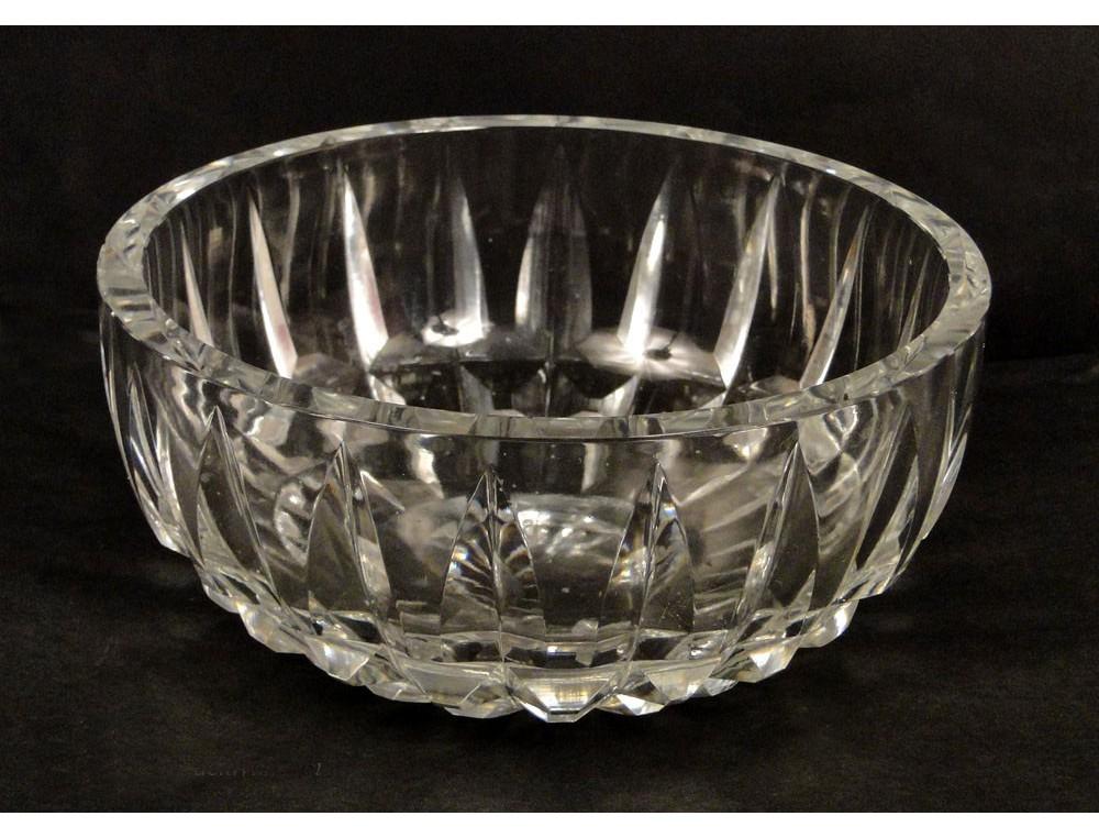 carved baccarat crystal cup crystal daum france 20th. Black Bedroom Furniture Sets. Home Design Ideas