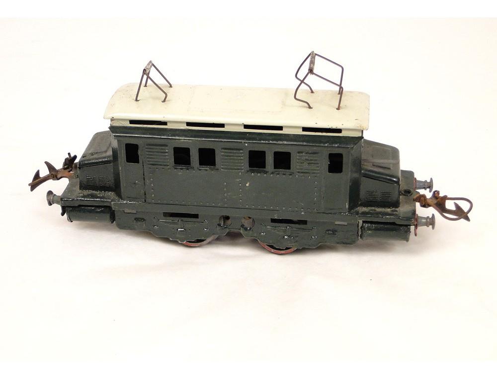 Electric Locomotive Type Motor B Po Horny Model Train Station
