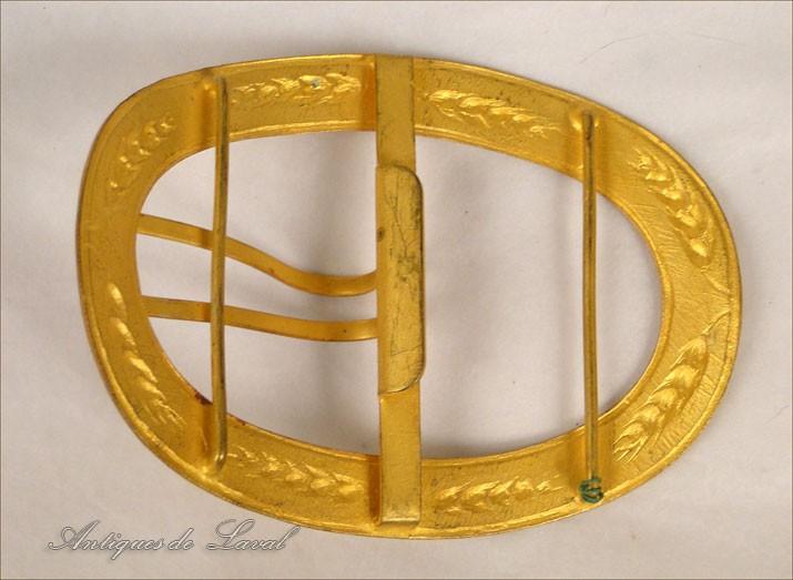Boucle Ceinture Laiton Doré Epi Blé Art Nouveau 19e   eBay 610ceb9423a