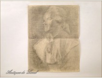 Female Portrait Drawings Study Men Nudes Colarossi 20th