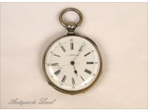 Sterling Silver Watch Fob Bailly NAPIII 19th