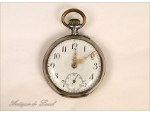 Sterling Silver Watch Fob 19th