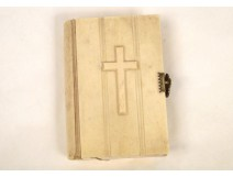 Carved Ivory Roman Missal Paroissien Mass Lerivint 19th