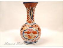 Imari Porcelain Vase Flowers 19th