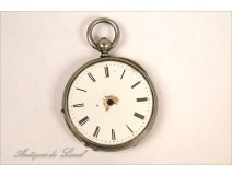 Sterling Silver Watch Fob NAPIII 19th