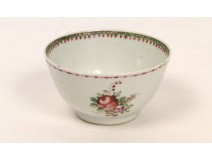 Porcelain Bowl Company Ineds Famille Rose 18th