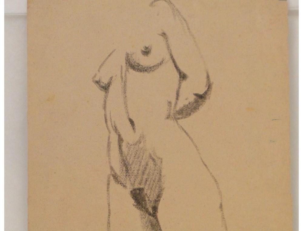 Dessins Etude Femme Nue Modele Laigneau De Villeneuve Papier Peint Dumas