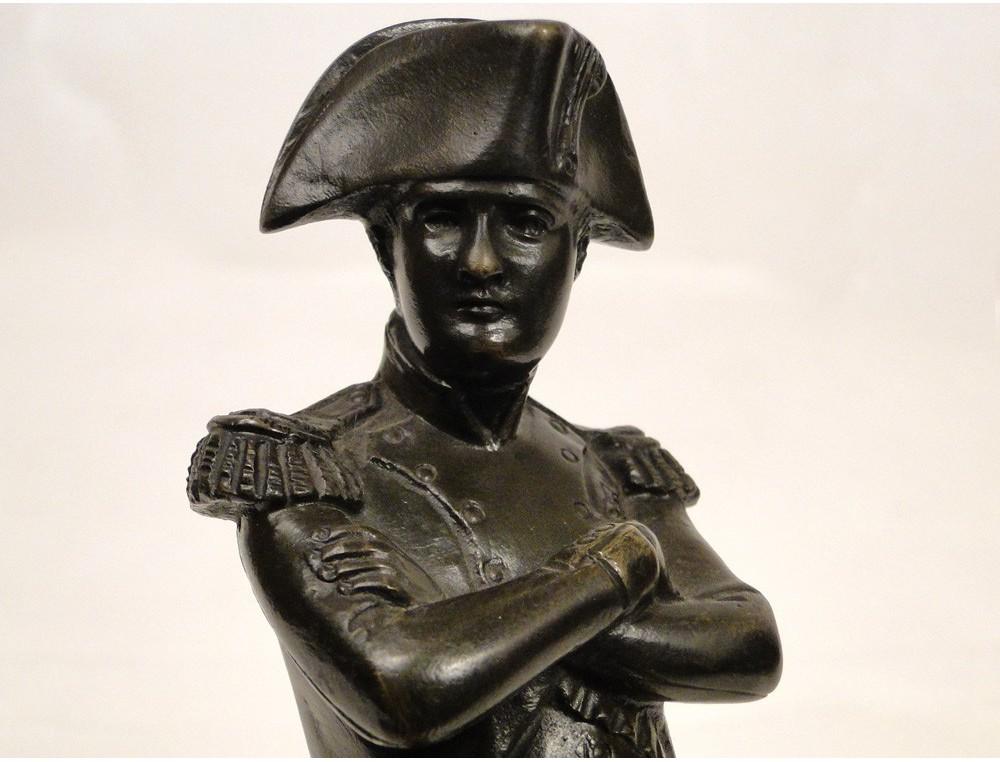 Statue Bronze Sculpture Of Napoleon By Guillemin Xix