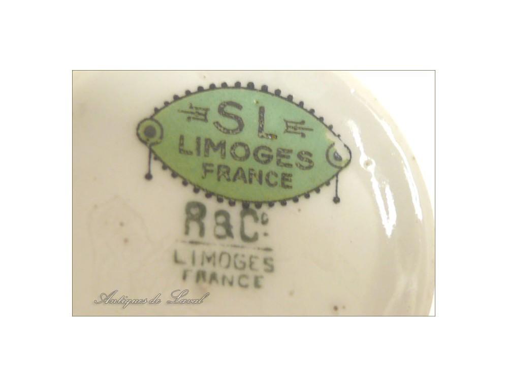 Tasse porcelaine sl r c limoges france - Porcelaine de limoges ...