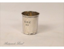 Pension solid silver cup Minerva nineteenth