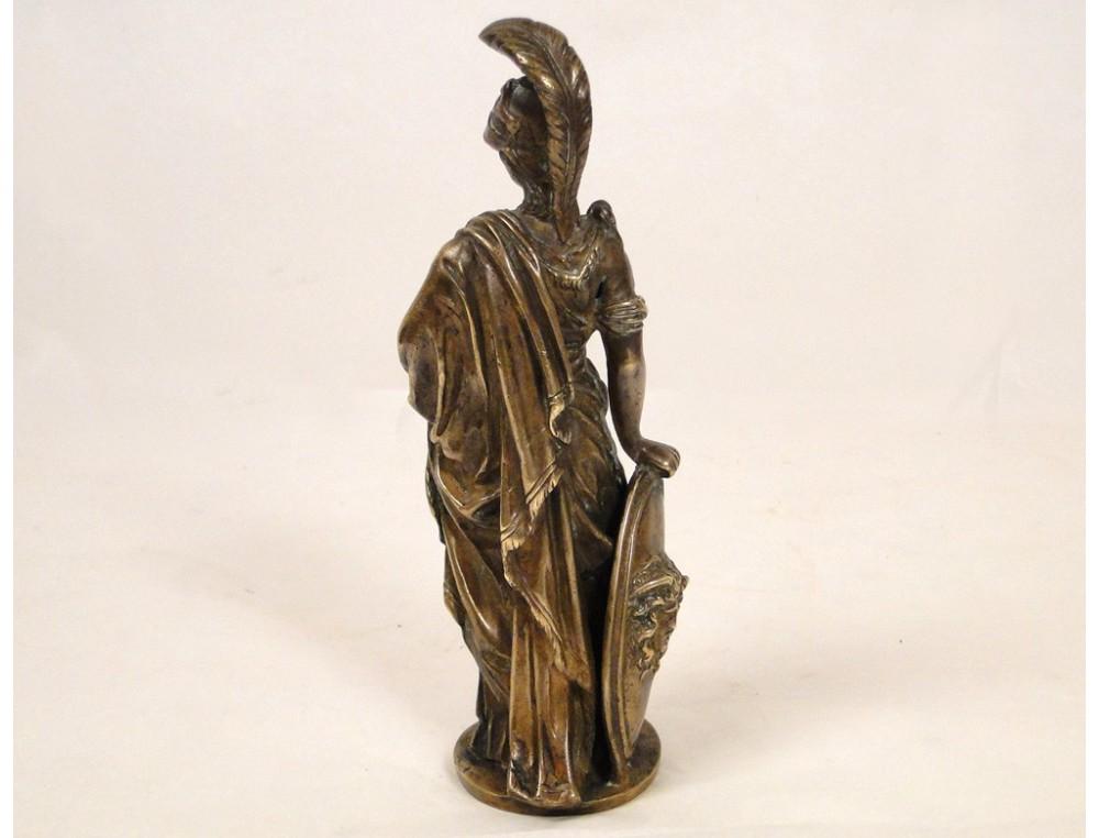 Gilt Bronze Statue Sculpture Representing Minerva Or