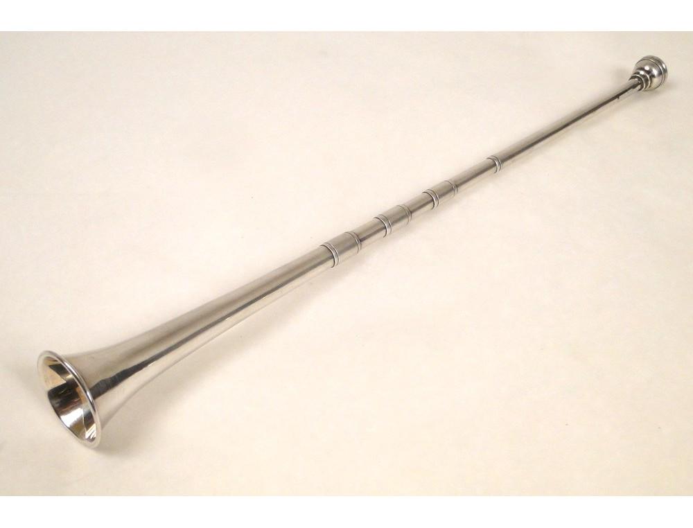 appellant trumpet or horn silver english nineteenth. Black Bedroom Furniture Sets. Home Design Ideas