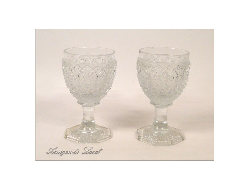 Crystal stemware from st louis or baccarat nineteenth - Baccarat stemware ...