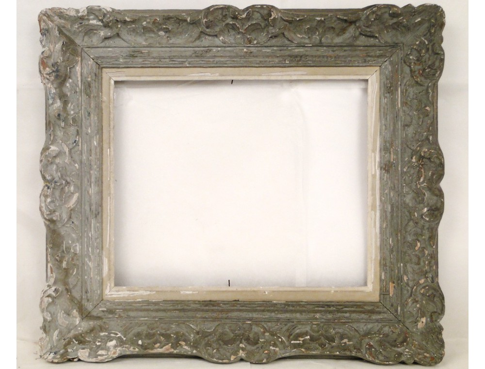 Montparnasse Carved Wooden Frame Decorated With Shells
