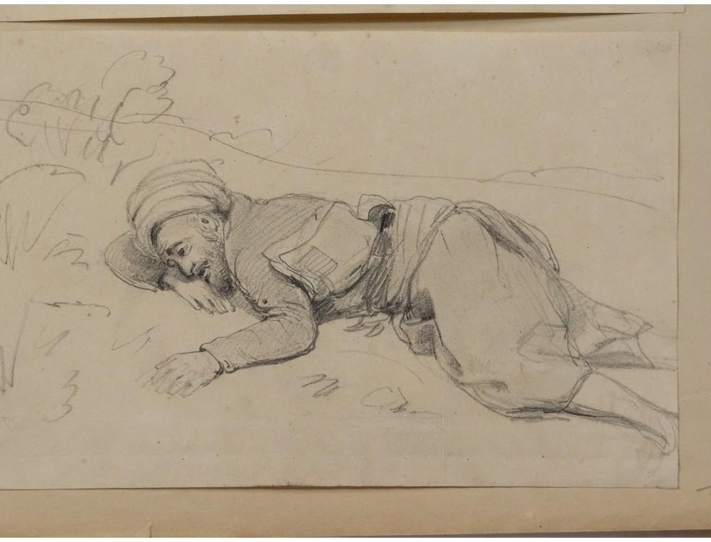 Drawing Th 233 Odore Gudin