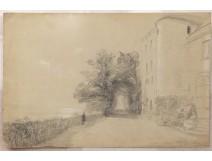Drawing Théodore Gudin