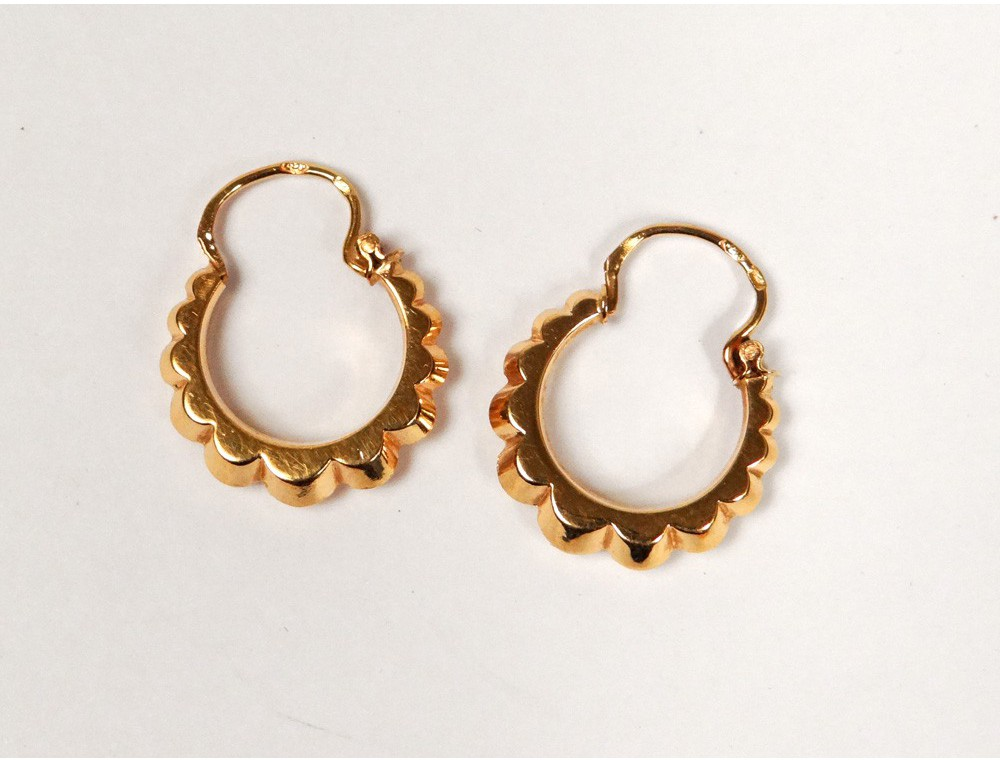 Home gt antique jewelry gt pair of earrings 18k solid gold jewelry ring