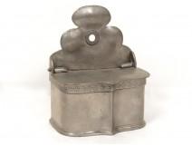 Spice box spice holder tin punch eighteenth century