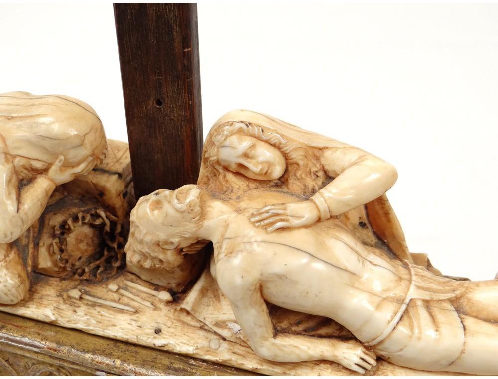 Pieta Sculpture Crucifix Cross Virgin Mary Jesus Saints