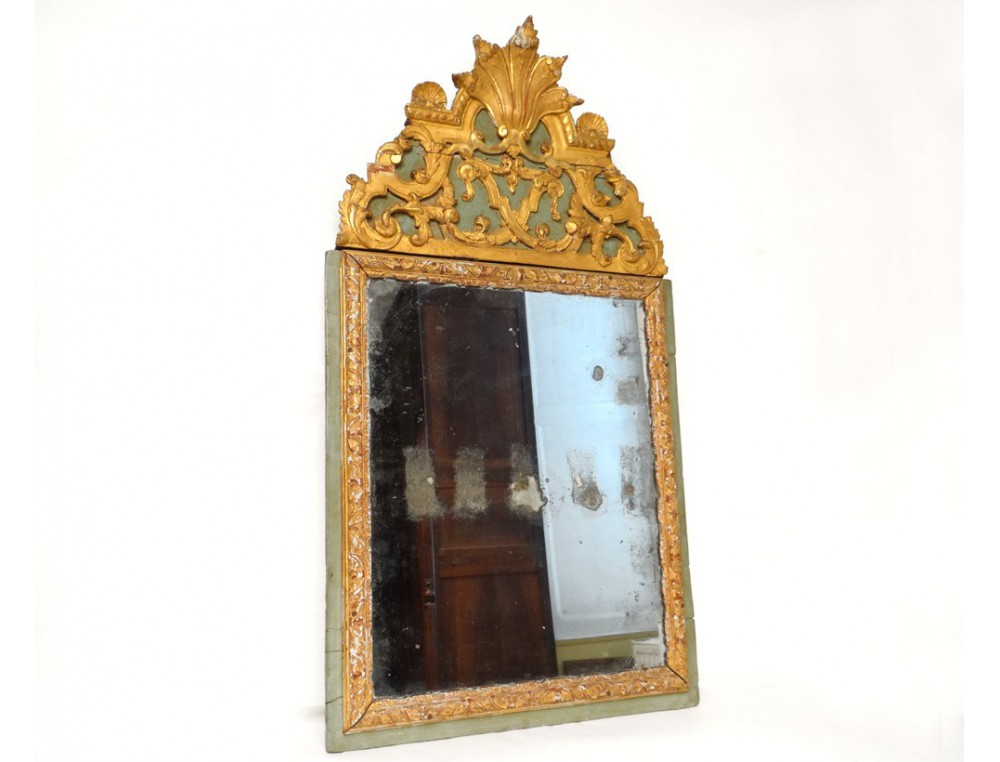 Regency Louis Xvi Architectural Gilt on Rococo Louis Xv Style Painted Console At 1stdibs