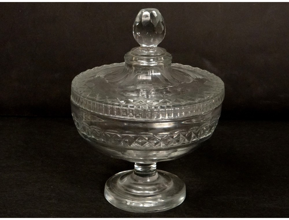 compote cut crystal baccarat st louis antique french. Black Bedroom Furniture Sets. Home Design Ideas