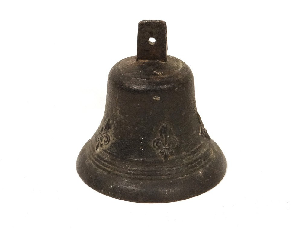 Bronze Bell Flowers Bronze Antique French Lily Bell