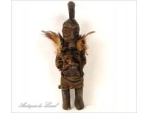 African statue fetish ethnic tribal wood twentieth century