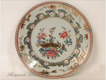 Plat of the East India Company, geese and chrysanthemums, eighteenth