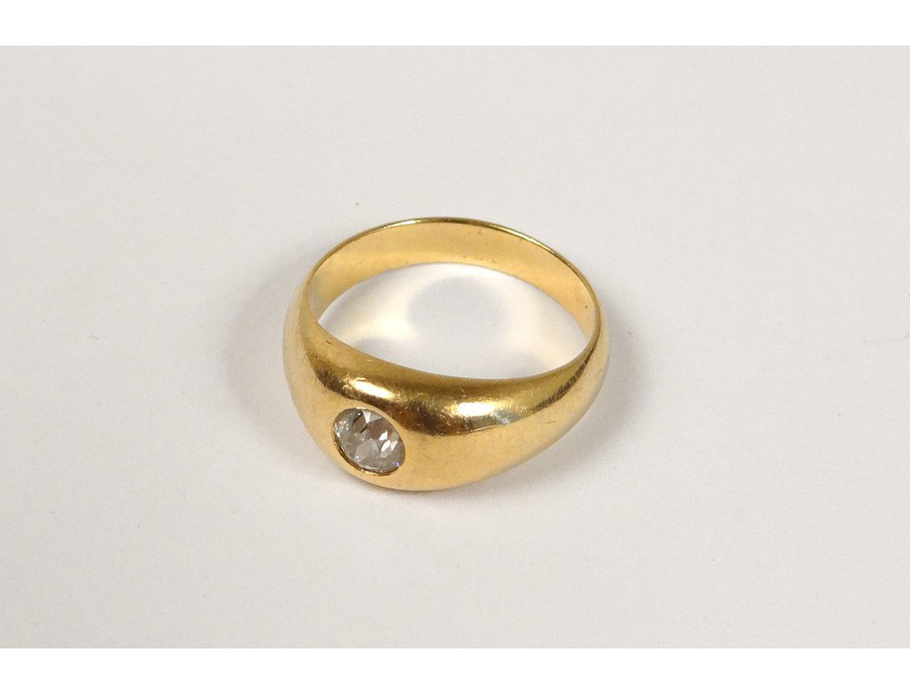 18 Carat Solid Gold Ring 0 30 Ct Diamond Ring Gold Diamond