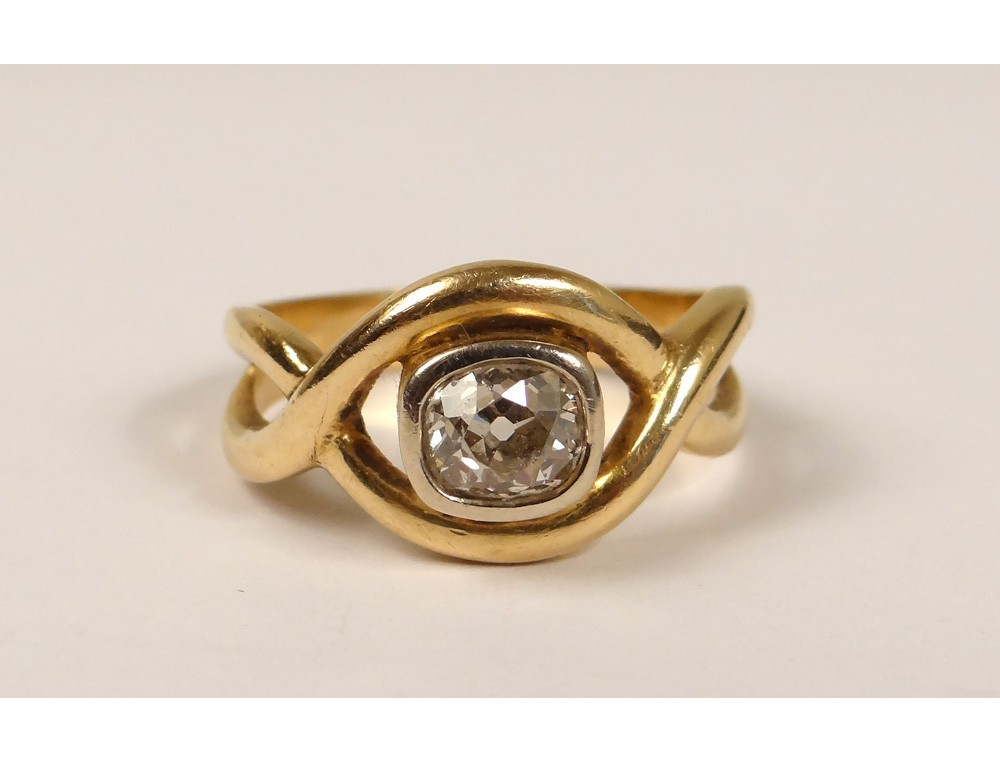 Rare Ring 18 Carat Solid Gold Diamond Ring 0 80 Ct Gold