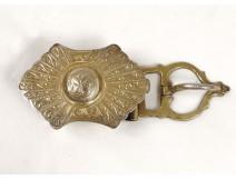 Belt buckle sterling silver Fekroun Amazigh Maghreb Morocco Sahara twentieth