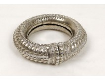 Magnificent bracelet sterling silver Sahara Morocco Maghreb Amazigh nineteenth century