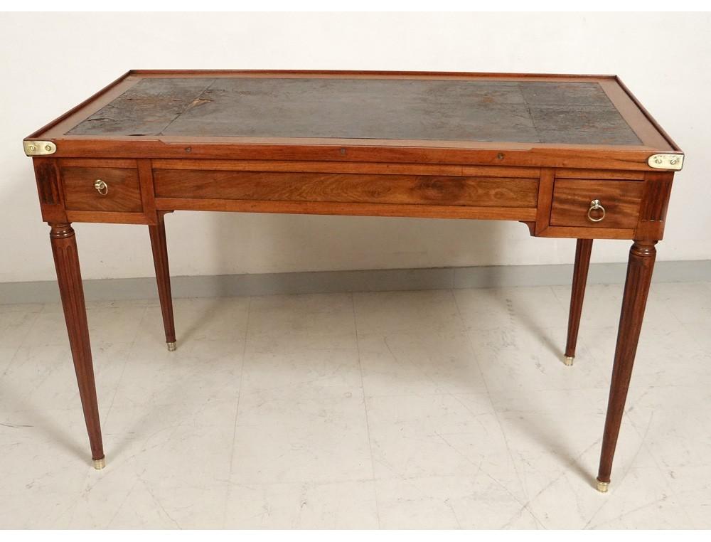 table game backgammon louis xvi mahogany golden brass. Black Bedroom Furniture Sets. Home Design Ideas