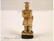 Ivory carving soldier eighteenth