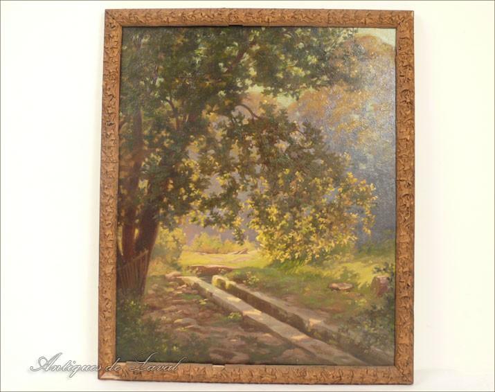 Hsp peinture jardin bordeaux eug ne forel 1931 ebay - Panneau jardin castorama bordeaux ...