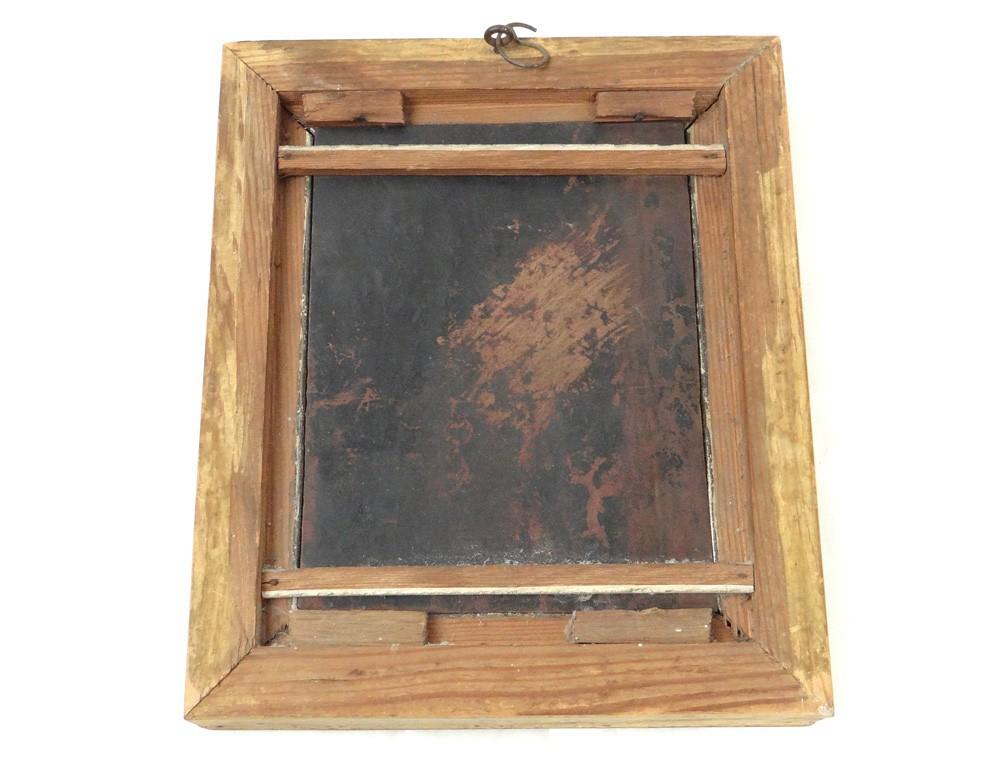 huile sur cuivre tableau portrait vierge l 39 enfant j sus. Black Bedroom Furniture Sets. Home Design Ideas