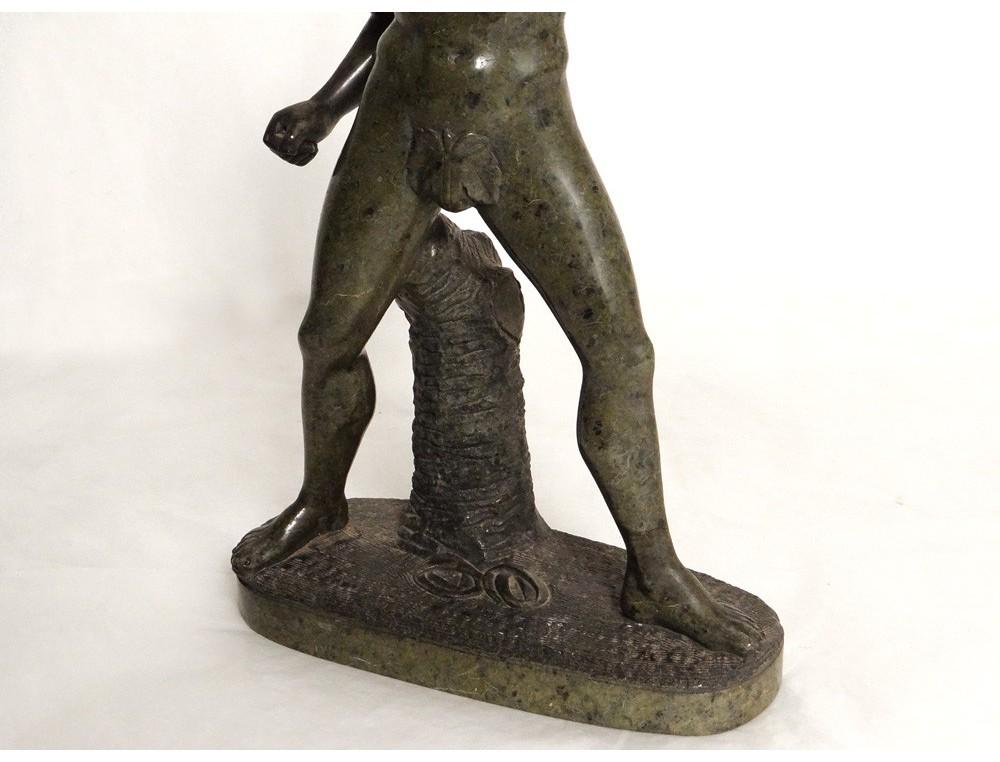 Pro Patria, large patinated bronze sculpture by Gaudez