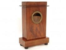 Porte-montre en acajou laiton doré Louis-Philippe clock watch XIXème siècle