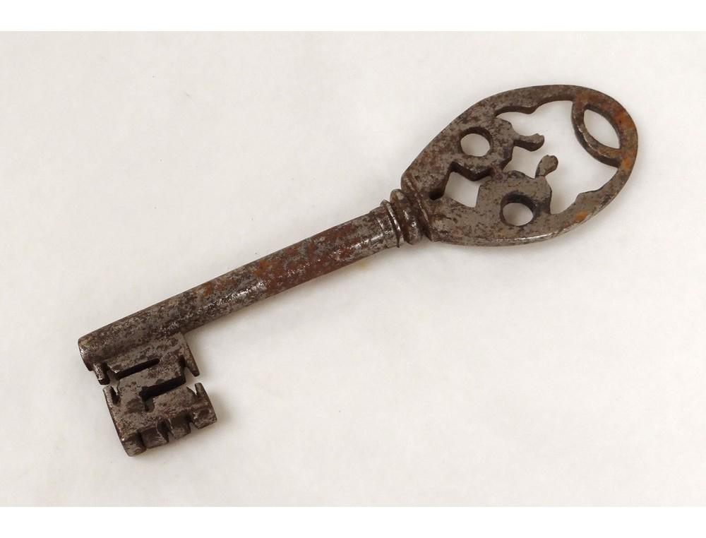 Clé Ancienne clé clef ancienne fer forgé château antique key xviiième siècle