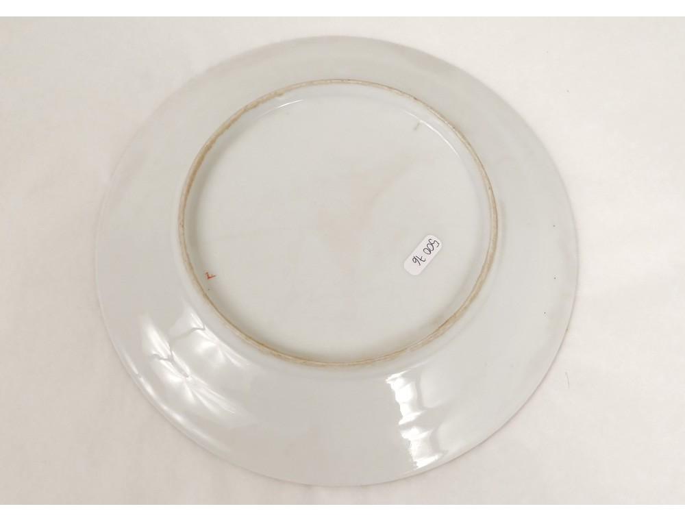 Assiette porcelaine limoges singe savant orientaliste coupe fruits d co 19 - Porcelaine de limoges ...