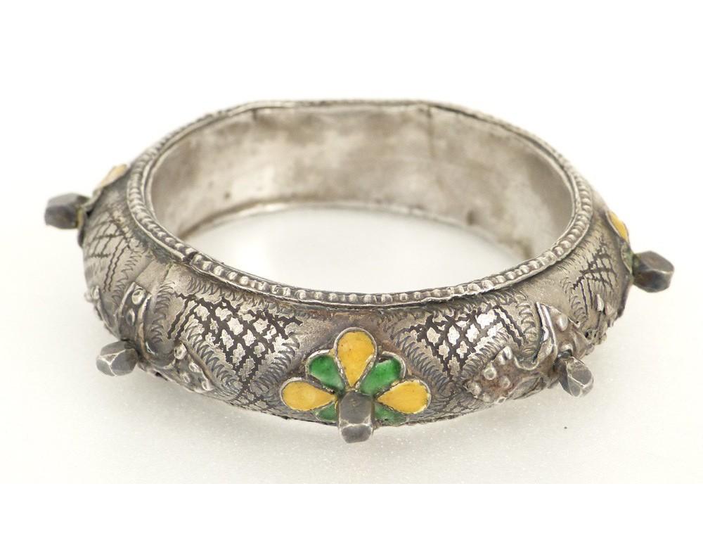 Bijou Berb 232 Re Amazigh Paire Bracelets Argent 233 Maux Maroc