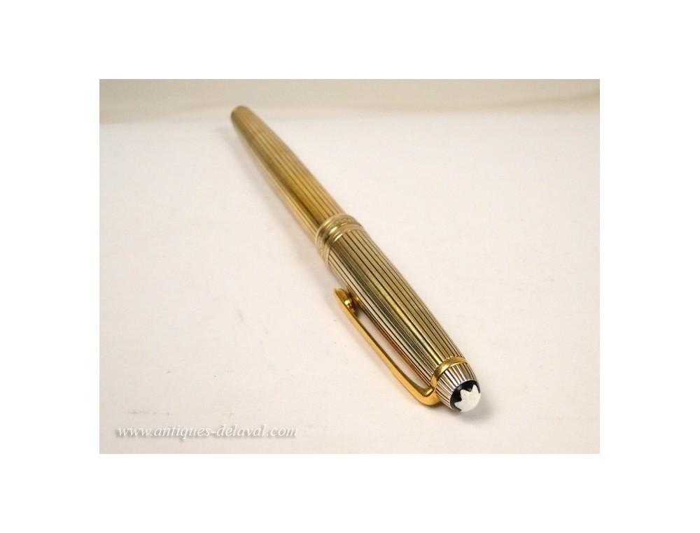 Roller Pen Montblanc Meisterstuck Silver Vermeil 20th