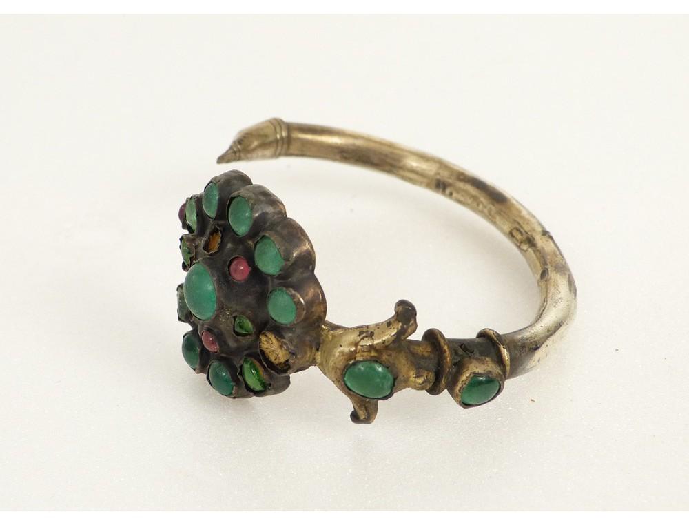 Bijou Berb 232 Re Amazigh Bracelet Boucle Oreille Argent